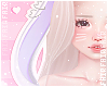 F. Bunny Ears W/Lilac