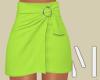 Lime Mini Skirt | S