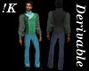 !K!Delure Victorian Suit