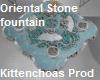 Oriental stone fountain