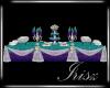 Irisz Buffet Table