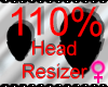 *M* Head Resizer 110%