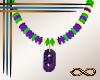 [CFD]Mardi Gras Necklace
