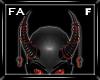 (FA)ChainHornsF Red