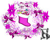 Christmas Wreath Pink