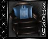 Blue kids scaled chair