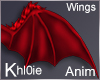 K red  devil wings