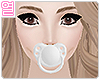 [Y] White Pacifier