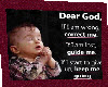 A Dear God Prayer