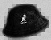black kangol bucket hat