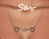 Name Necklace-Tiger(req)