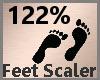 Foot Scaler 122% F
