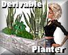 BIG green plant planter