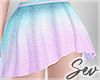 *S Mermaid Skirt