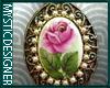 Rose Charm Sticker