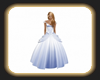 Caz Cinders gown azur