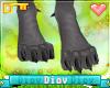 *D* Trash Panda Feet
