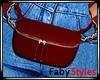 Red Waist Bag