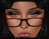 *J Red Glasses