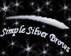 Simple Silver Brows
