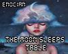 the Moon Sleeps / Table