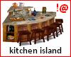 !@ Kitchen island corner