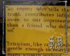 SB Criticism easel