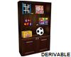(S) Toy Shelf Unit