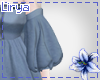Blue Casual Sleeves