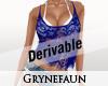 Top lace derivable