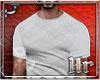 Hr| Plaid White T Shirt