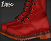 ! Red Boots