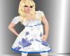 Female Child White Dress