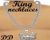 King platnium necklaces