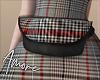 $ Plaid Fur Add-on Bag