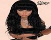 Farrah Black Silk