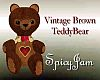 Vintage Brown TeddyBear