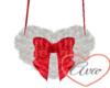Heart Purse R/W