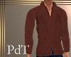 PdT Cinnamon WoolShirt M
