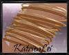 KL* Gold n Copper Bangle