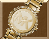 MICHAELKORS GOLD WATCH