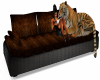 Steampunk Tiger Couch