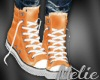 Orange High tops