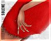 s. Fur Baby Dress Red