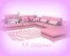 Big Pink Kawaii Couch