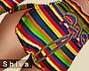 ❤ Ruffle Pants Rainbow