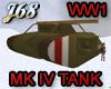 J68 British MK IV Tank