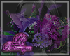 Purple flowers Right