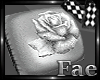 Rose Wedding Pillow