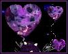 Amethyst Heart Balloon